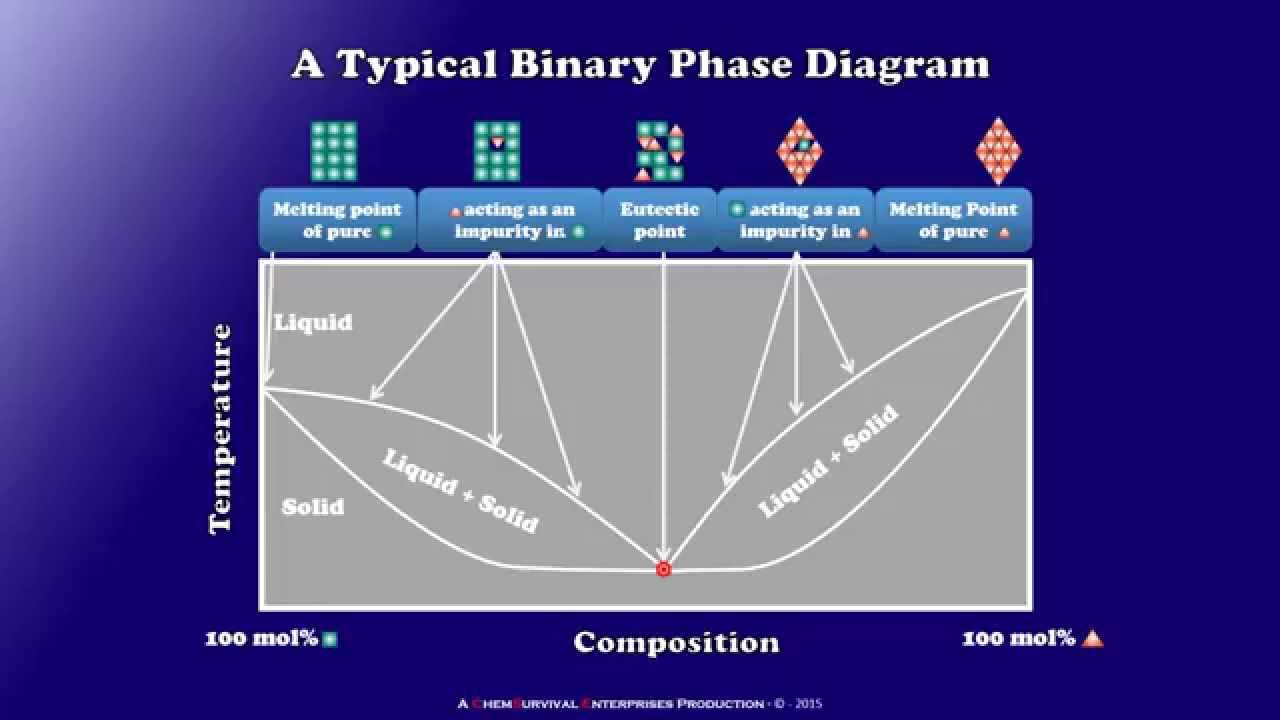 Binary Phase Diagram.Binary Phase Diagrams Explained