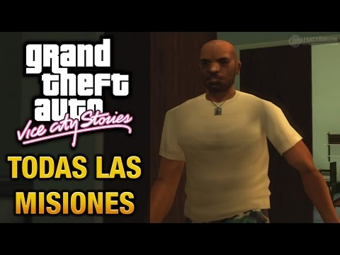 GTA: Vice City Stories - Todas las misiones (Juego completo/