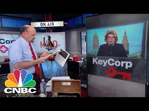 KeyCorp CEO Beth Mooney: Banking On Success | Mad Money | CNBC