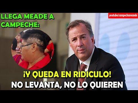 José Antonio Meade ¡Hace el ridículo en Campeche! - Campechaneando