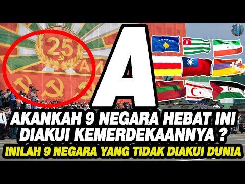 Будут ли эти 9 великих наций признаны за свою независимость? Это 9 стран, которые не признаны в мире