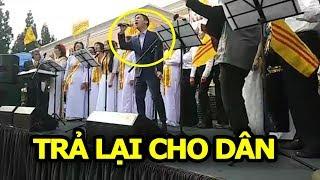 """Việt Khang sôi động với ca khúc """"Trả Lại Cho Dân"""" trong ngày Nhân Quyền Quốc Tế"""