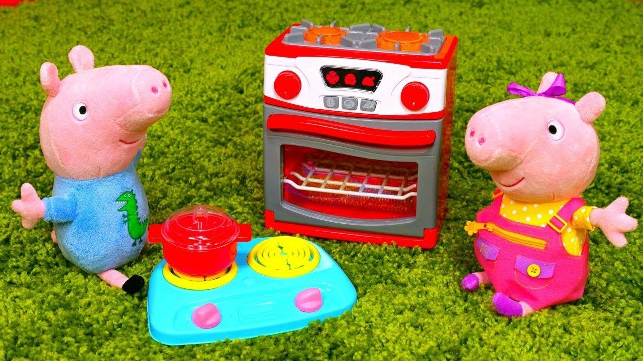 Video E Giochi Per Bambini Peppa Pig E La Cucina Giocattolo Nuovi Episodi In Italiano Youtube
