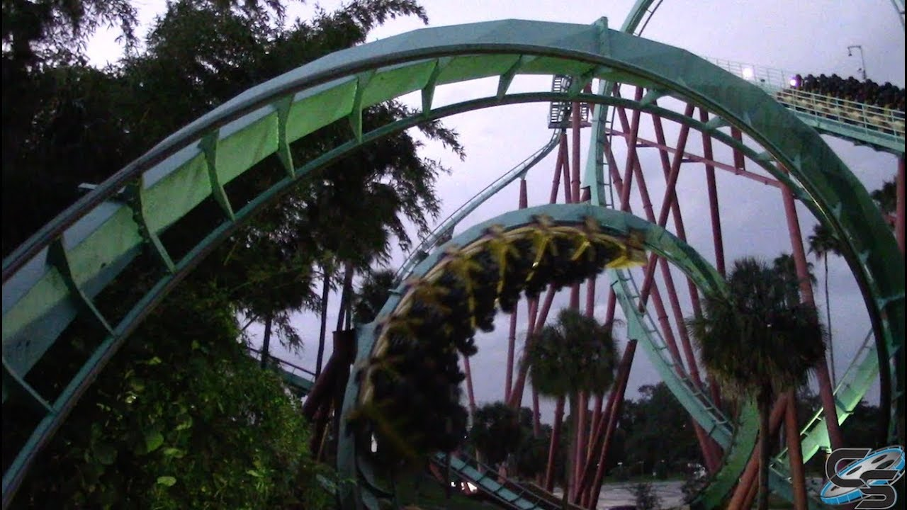 Riding Kumba For The First Time At Busch Gardens Tampa Youtube