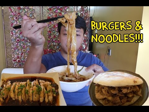 Thumbnail: Chinese BURGERS & SPICY Noodles: Vancouver Xi'an Food Tour