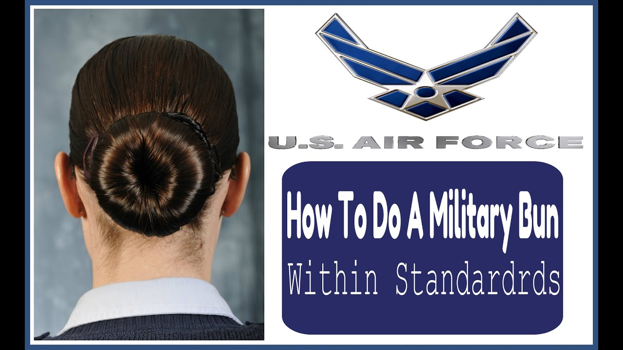 How To Do A Military ROTC Bun Within Standards