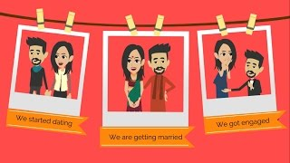 ✅ Wedding Invitation Video | Electronic Personalized Wedding Invitations