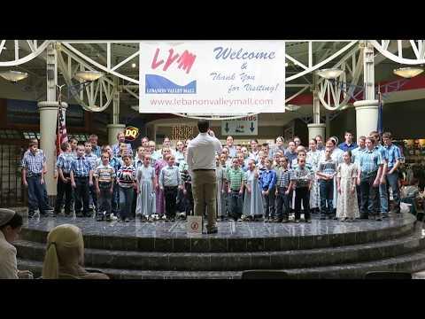 Joy to the World Jonestown Mennonite School Singing Christmas Carols Christian Anabaptist Music