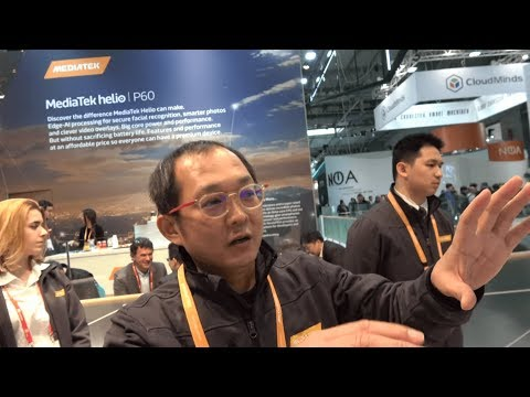MediaTek helio P60, octa-core ARM Cortex-A73 and ARM Cortex-A53 with Mali-G72