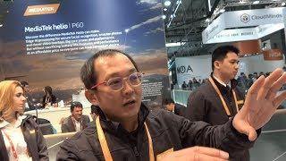 MediaTek helio P60, octa-core ARM Cortex-A73 and ARM Cortex-A53 with Mali-G72