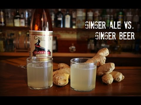 Ginger Ale Vs Ginger Beer, What's The Difference?