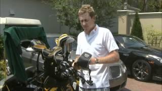 Ian Poulter Golf Cart