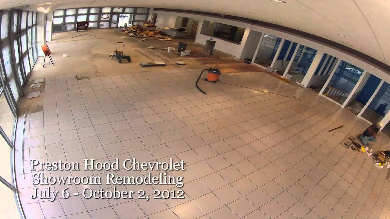 Preston Hood Chevrolet >> Preston Hood Chevrolet Construction Time Lapse