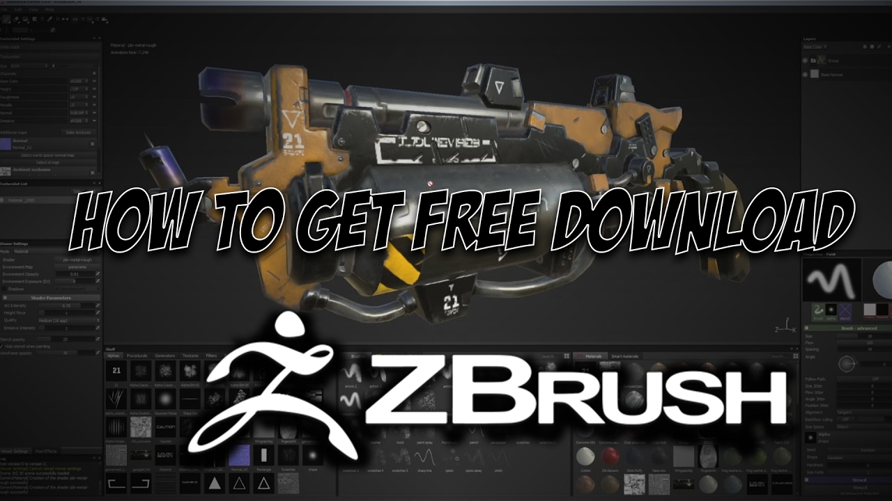 How To Get ZBrush 4R7 For Free Download Including Showcase Video For ZBrush