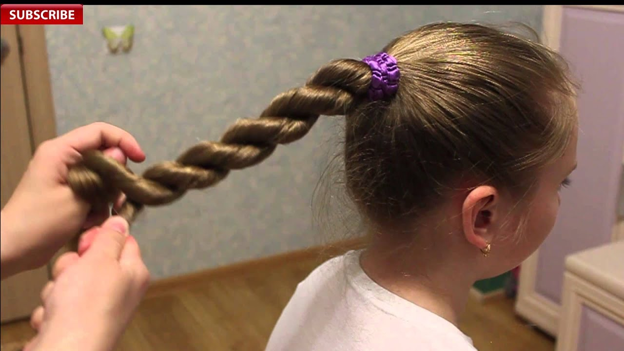 rope braid | back-to-school | best hairstyles for girls - youtube