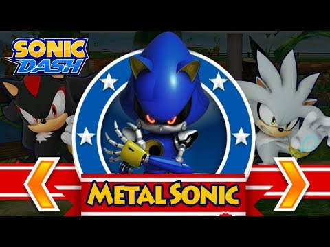 Sonic Dash: Metal Sonic Event & Gameplay [60 Fps]