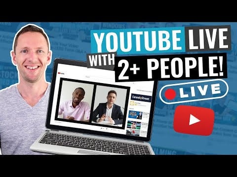 How To Do A LIVE Interview On YouTube (YouTube Live With 2+ People)