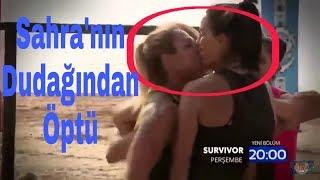 Nagihan Sahranın Dudağından Öptü  29. Bölüm Fragmanı (Survivor 2018)