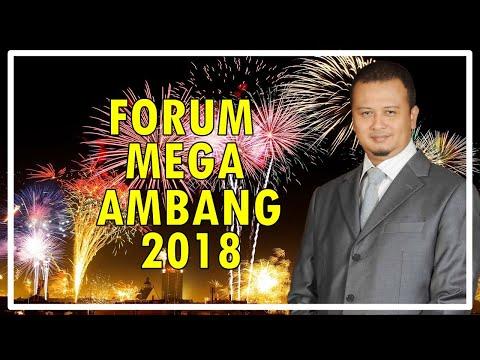 Forum Mega Star Ambang 2018 Ustaz Abdullah Khairi Ustaz Syamsul Debat Ustaz Bollywood Dr Izhar Ariff