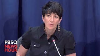 WATCH: Charges announced against Ghislaine Maxwell for her role in sex abuse by Jeffrey Epstein
