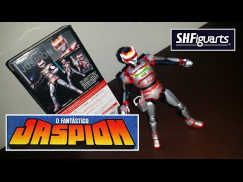 Apresentação do Boneco Jaspion da Sh Figuarts / Bandai - Review / Unboxing (PT-BR)