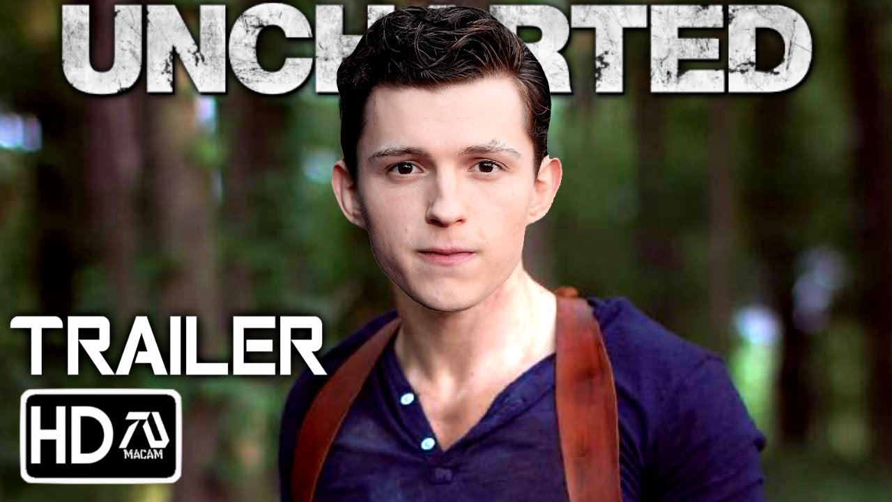 uncharted movie poster tom holland