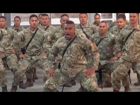 Deadliest Warriors In The World: Royal Tongan Marines Battle Cry  Sipi Tau Kailao