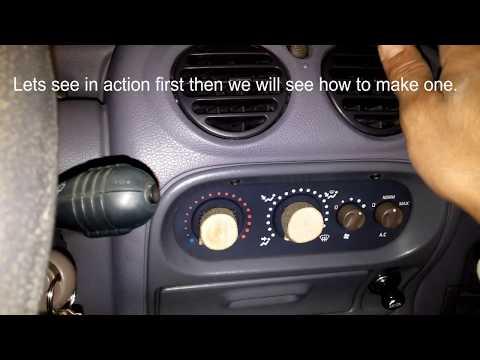 Renault Twingo Heat Knob DIY