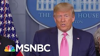 Markets Tanked On Coronavirus Fears. Trump Blamed Democrats. | The 11th Hour | MSNBC
