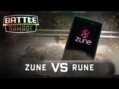Microsoft Zune Torture Test - WIRED's Battle Damage