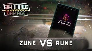 Microsoft Zune Torture Test - WIRED's Battle Damage
