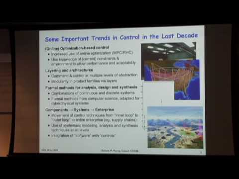 Control Theory and Methods - Richard Murray