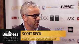 "Scott Beck: Interview at ""Best Companies to Work For"""