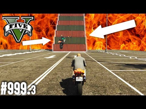 Das GTA HÖLLEN-BAUTEIL - BIKE SKILL TEST (+Download)| GTA 5 - Custom Map Rennen