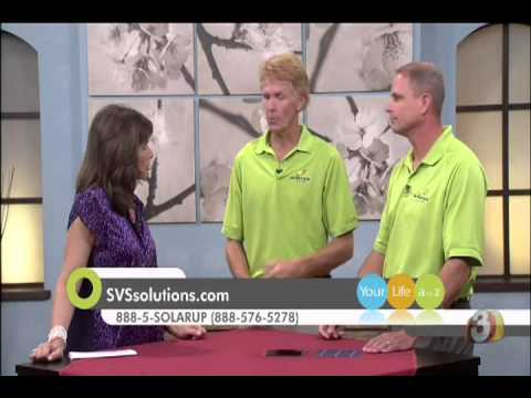 Sun Valley Solar Solutions on Channel 3