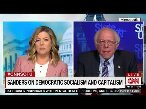 Bernie Sanders Ducks Question On Differences Between Him And 'Capitalist' Elizabeth Warren