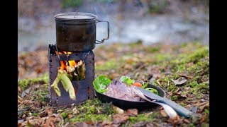 Woodland Dinner On The Bushbox XL | Beer And Shout Out