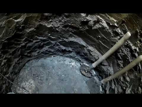 раскопали дно древнего водоема прикопке колодца