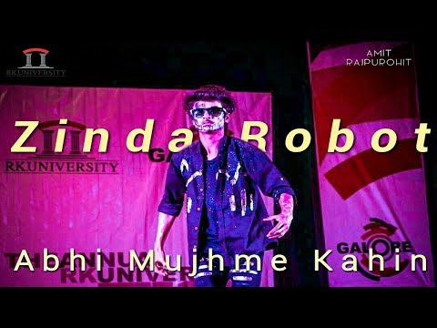 Best Robotics Dance | Abhi Mujhme Kahin | Amit Rajpurohit | RK University | Galore 2017