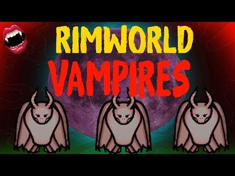 Vampires in Rimworld! Rimworld Beta 18 Mod Showcase