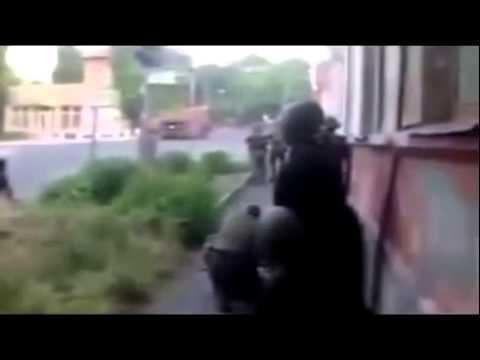 Shootout, Ukraine, Lugansk!