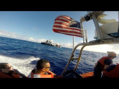 USCGC KUKUI South Pacific Patrol 2016 (HD)
