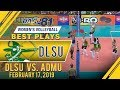 UAAP 81 WV: May Luna evades the defense for the perfect down the line hit | DLSU | Best Plays