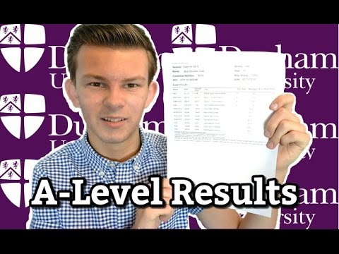 My A-Level Results & Durham University Acceptance | August 2015