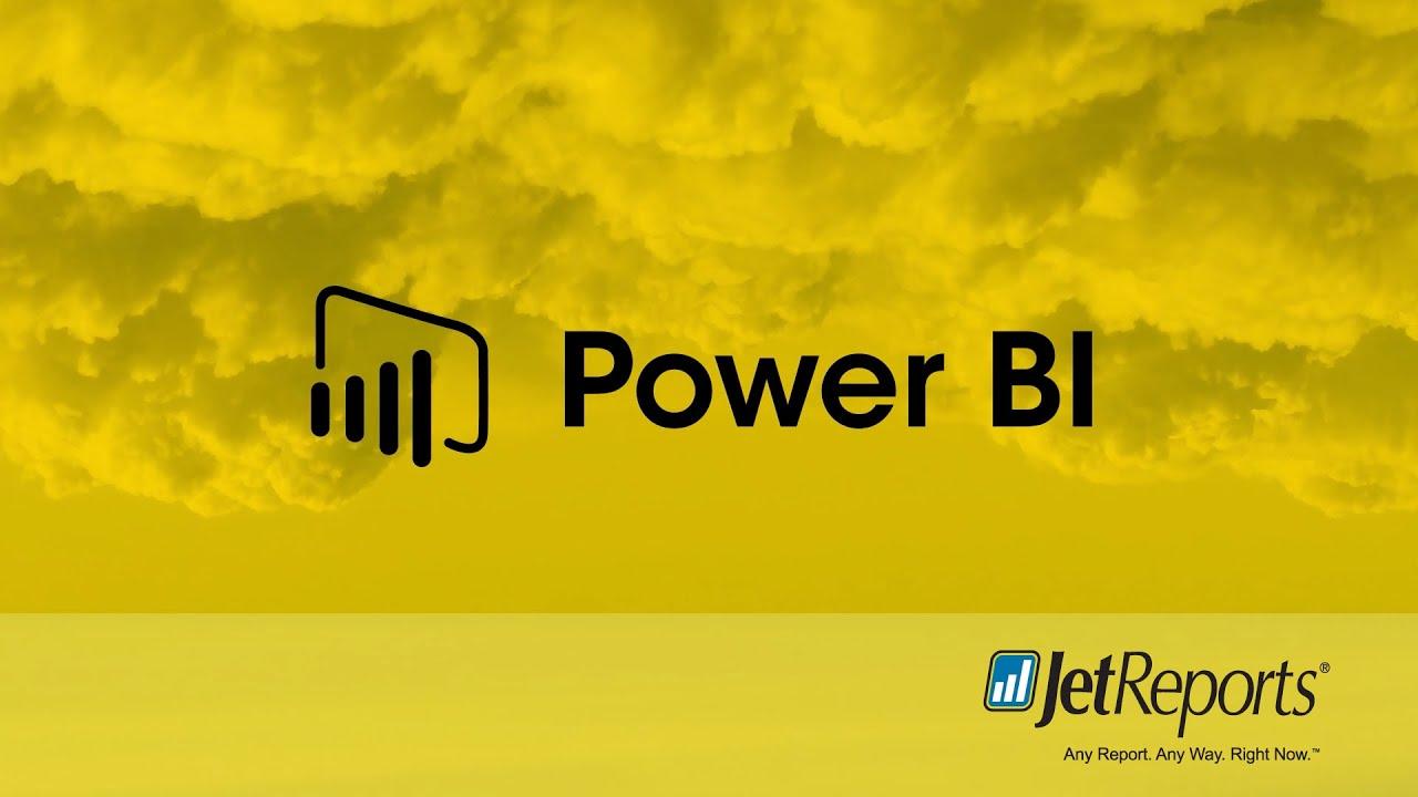 How to Create a Visual in Power BI Desktop