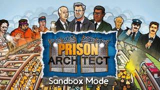 Ep 1 - Prison Architect - sandbox mode PC gameplay (lightly modded)