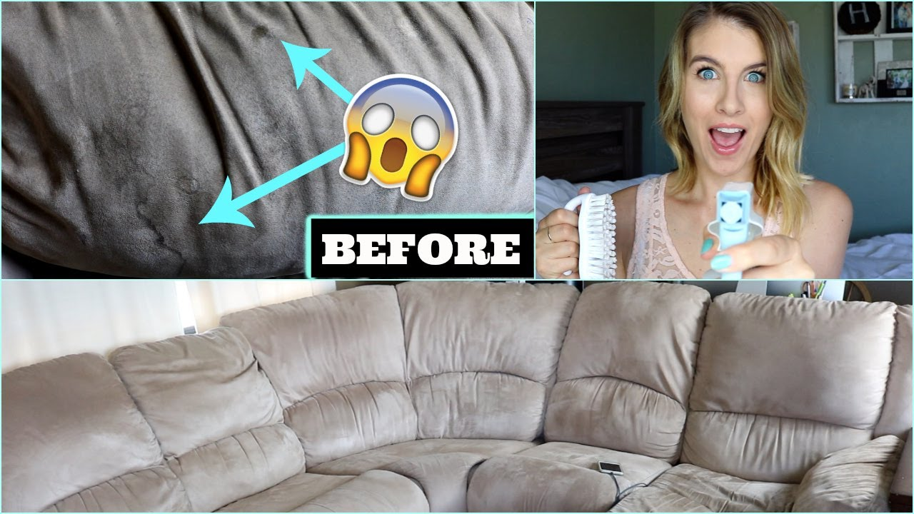 How To Clean Microfiber Couch One Ing Cleaner
