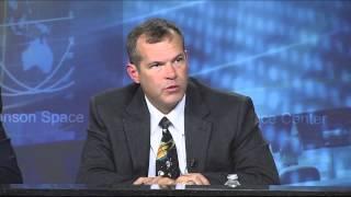 NASA Managers Brief Media on Spacewalk Leak