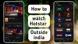 How to Download and Watch Hotstar Outside India Free 2020
