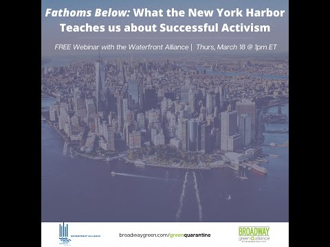 Fathoms Below: What the New York Harbor Teaches us about Successful Activism | Waterfront Alliance